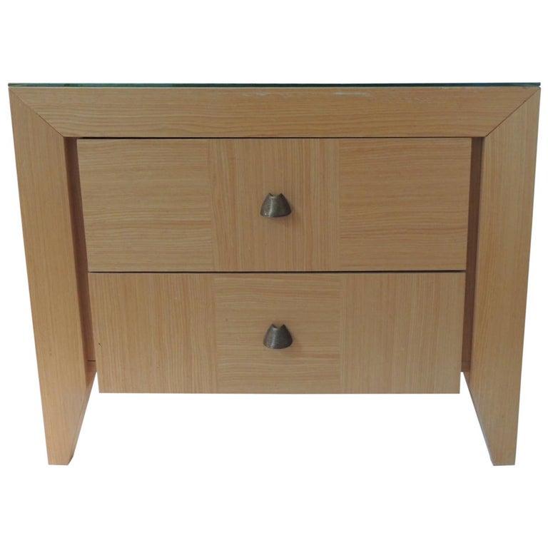 Modern Nightstand by Dakota Jackson for Lane Furniture For Sale