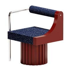 "Modern ""Normative-Chair"" in Limited Burgundy Edition"