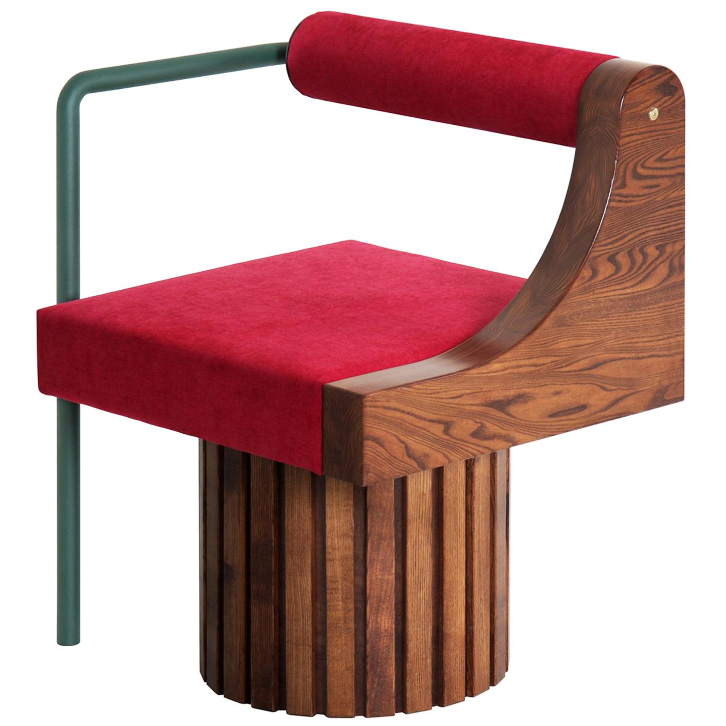 """Modern """"Normative-Chair"""" with Upholstery"""