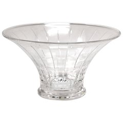 Modern Orrefors Circular Glass Bowl