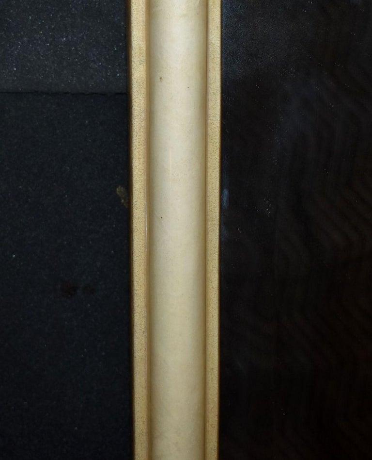 Mid-Century Modern Modern Parchment Mirror For Sale