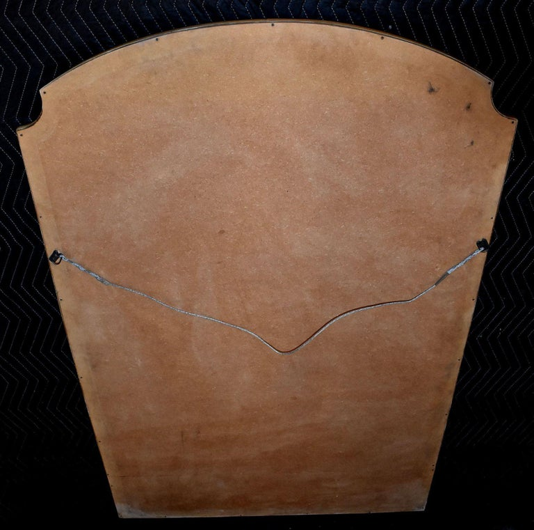Modern Parchment Mirror For Sale 1