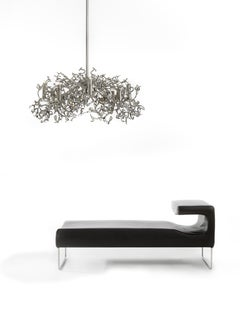 Modern Pendant in a Nickel Finish, Icy Lady Collection, by Brand van Egmond