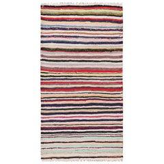 Modern Persian Kilim Rug. Size: 3 ft 2 in x 6 ft 1 in