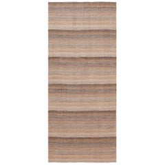 Modern Persian Kilim Runner Rug. Size: 4 ft. 5 in x 10 ft. 2 in