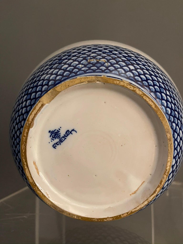 Modern Pietro Melandri and Paolo Zoli Ceramic Vase  For Sale 2