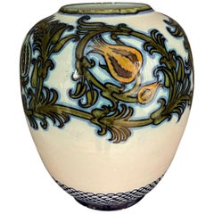 Modern Pietro Melandri and Paolo Zoli Ceramic Vase