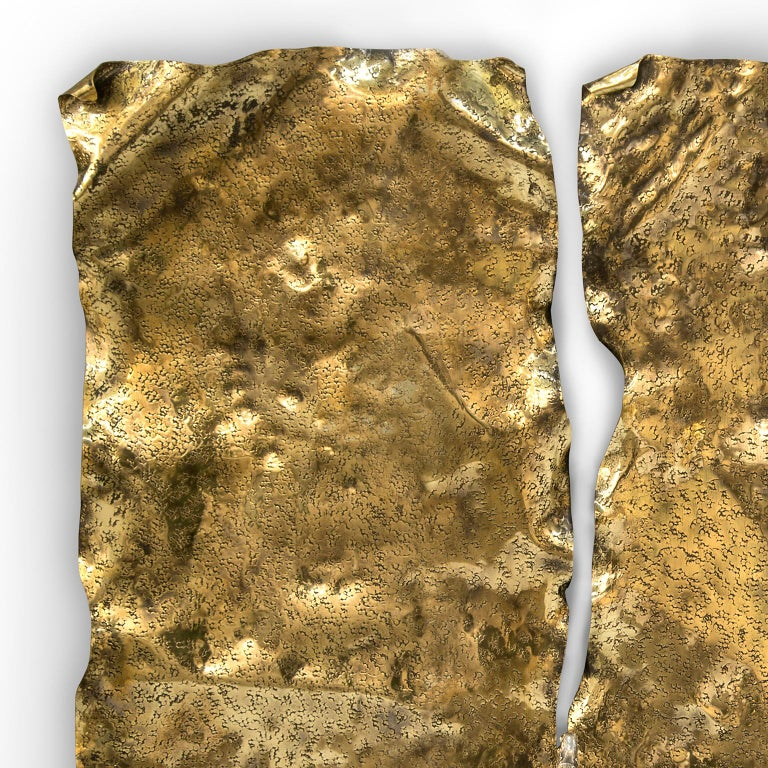 Portuguese Modern Pirate Wall Accessory Aged Brass, Fine Silver Dagger with Precious Stones For Sale