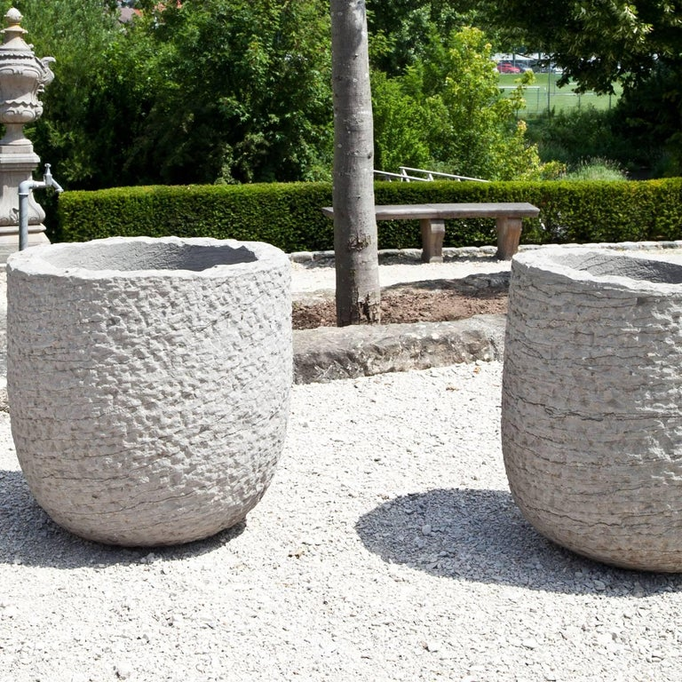 Stone Modern Planters For Sale