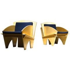 Modern Plywood Lounge Chairs