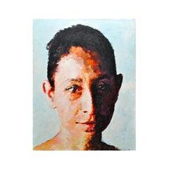Modern Portrait of a Woman Titled Chilanga #1 by Winnipeg Artist Mark Gaskin