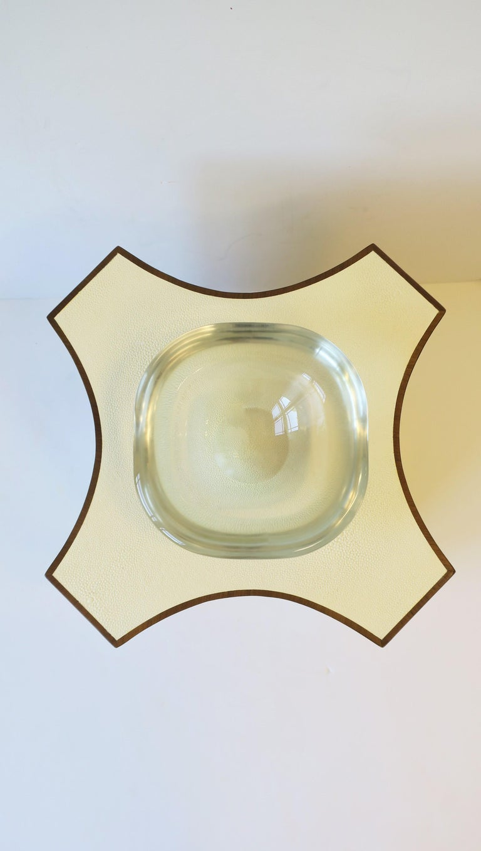 Modern Italian Murano Art Glass Bowl by Renato Anatra, Signed For Sale 14