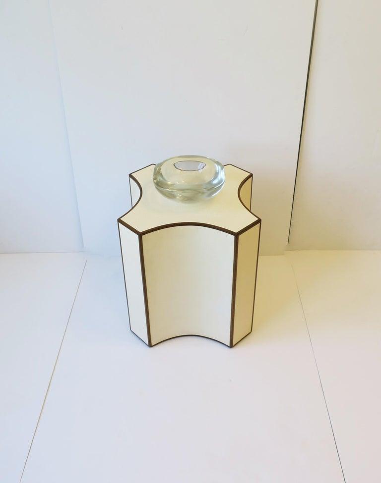 Modern Italian Murano Art Glass Bowl by Renato Anatra, Signed For Sale 11