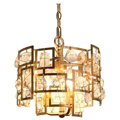 Modern Rock Crystal Chandelier