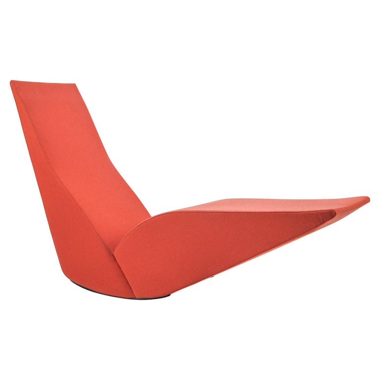 Modern Rocker Chaise Lounge For Sale