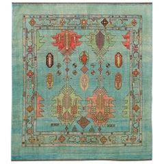 Modern Room Size Handmade Wool Rug