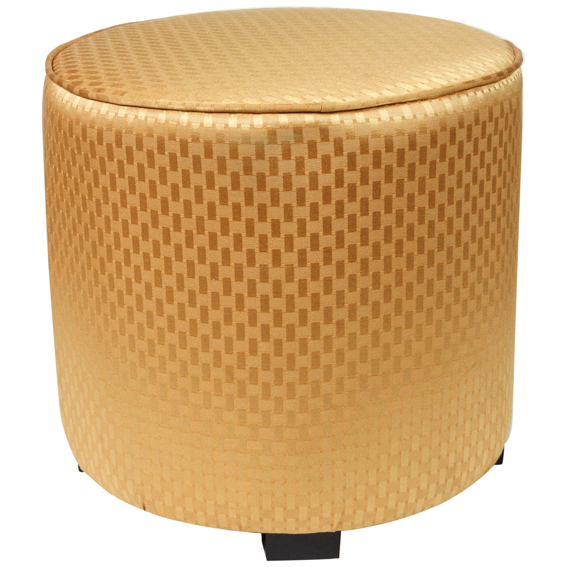 Miraculous Pair Of Gold Cube Upholstered Moroccan Ottomans Poufs At Theyellowbook Wood Chair Design Ideas Theyellowbookinfo