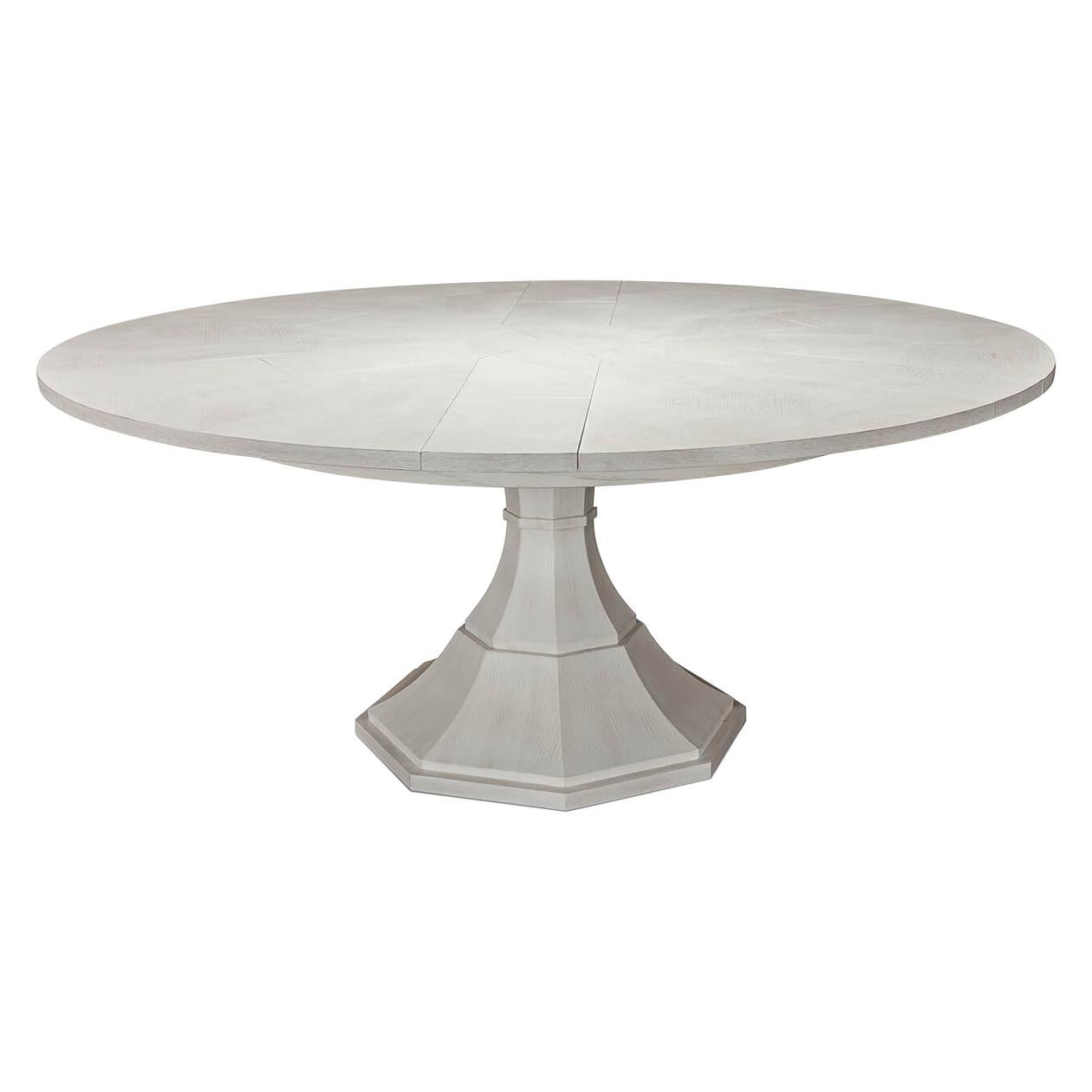 Modern Round Jupe Dining Table
