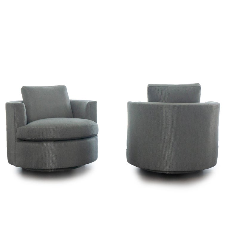 Modern Round Swivel Chair For Sale At 1stdibs