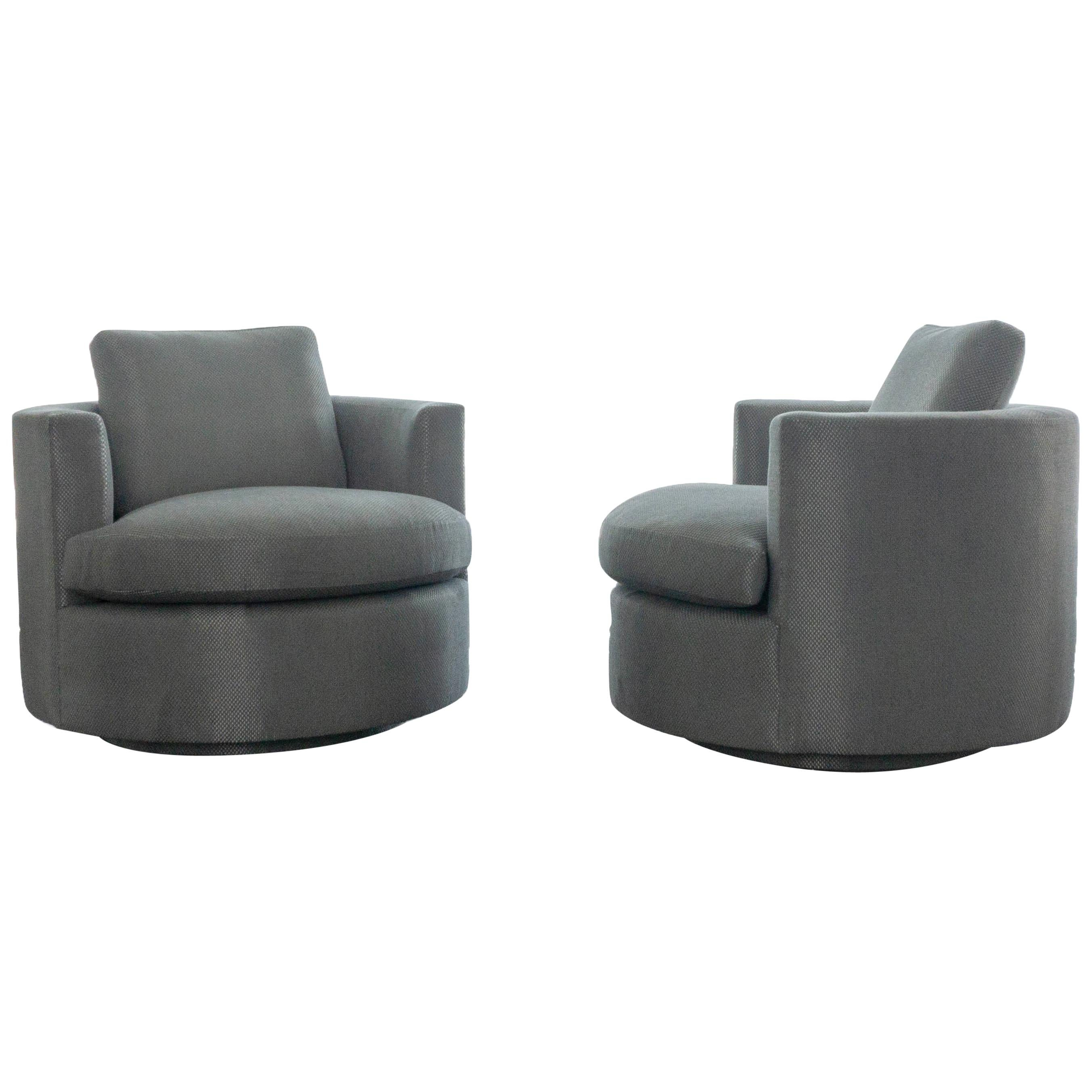 Modern Round Swivel Chair