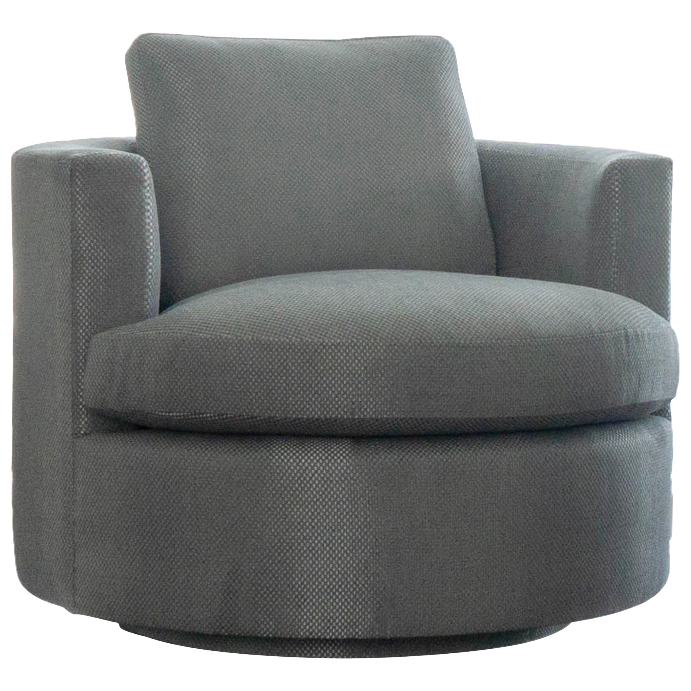 Modern Round Swivel Chair