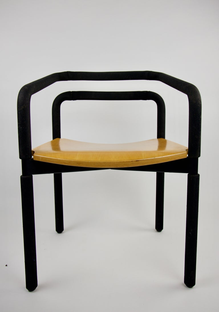 Modern Rubber Armchair By Brian Kane For Metropolitan Furniture