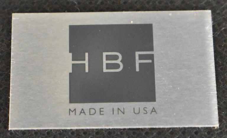 Modern Salon Lounge Chair Open Back H B F Barbara Barry For Sale 2