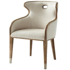 Modern Scoop Back Dining Chair