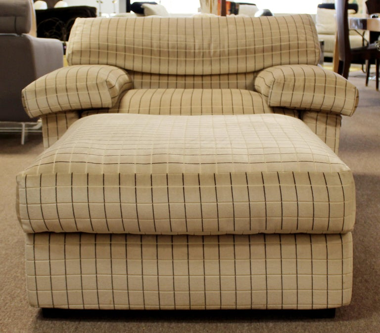 Modern Sectional Chair Ottoman Set Tobia Scarpa B&B Italia 1970s For Sale 5