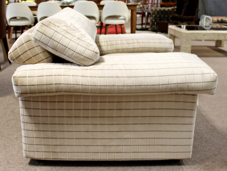 Modern Sectional Chair Ottoman Set Tobia Scarpa B&B Italia 1970s For Sale 1