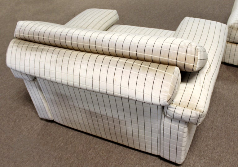 Modern Sectional Chair Ottoman Set Tobia Scarpa B&B Italia 1970s For Sale 2