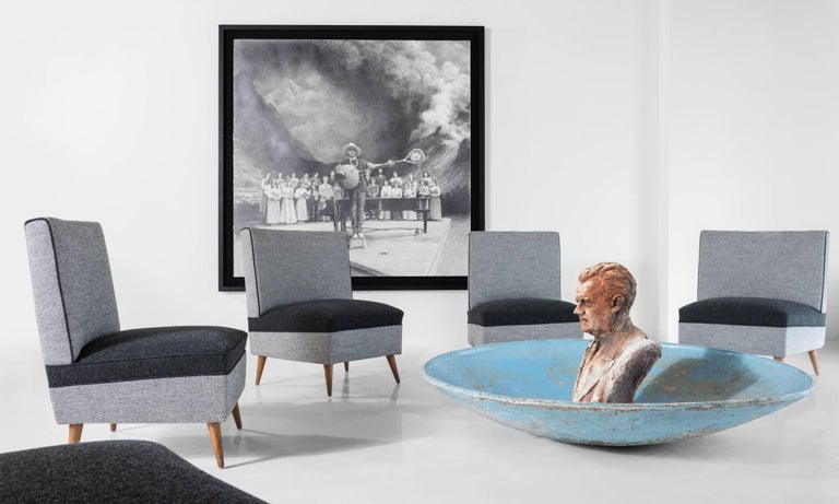 Modern Sectional Sofa, circa 1960 For Sale 4
