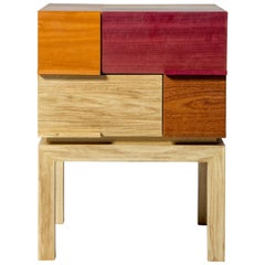 Modern Side Table by Ivan Rezende in Brazilian Wood