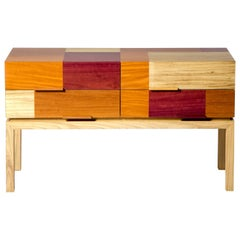 Modern Sideboard By Ivan Rezende in Brazilian Wood