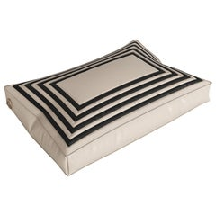 Modern Small Pet Bed, Vegan Leather Comfortable Mattress Cats & Dogs (2sizes)