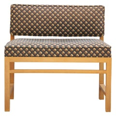 Modern Small Vanity / Boudoir Stool Bench by Edward Wormley for Dunbar