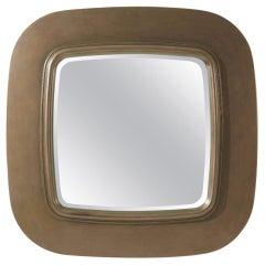 Modern Square Bronzed Mirror