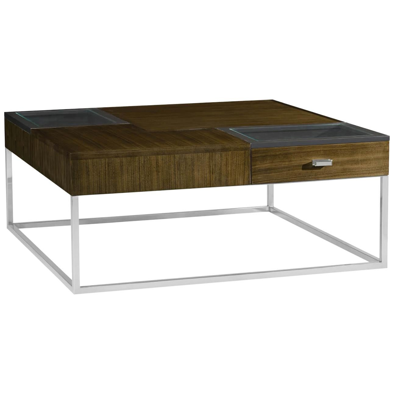 Modern Square Cocktail Table