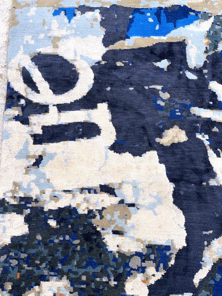 Wool Modern Stark Studio Rug -Trisuli-Metro Lexington, Estate Fresh  For Sale
