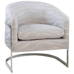 Modern Steel Bucket Chair
