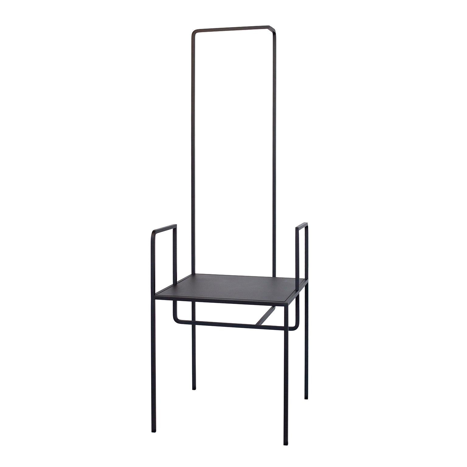 Contemporary   Steel Chair AI in Black by Studio 1+11, 21st Century, Germany