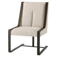 Modern Steel Dining Chair