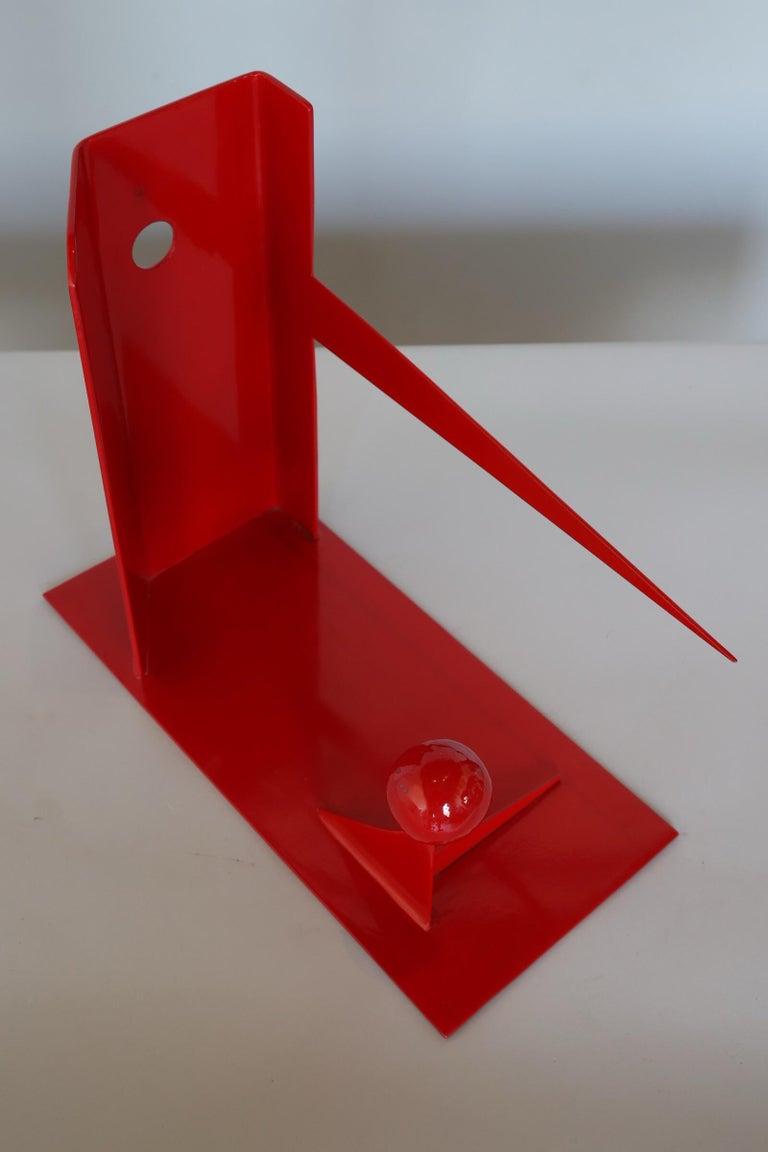 Modern Steel Sculpture
