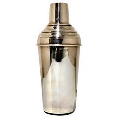 Modern Sterling Silver Cocktail Shaker Sheffield 2001 R Carr Ltd