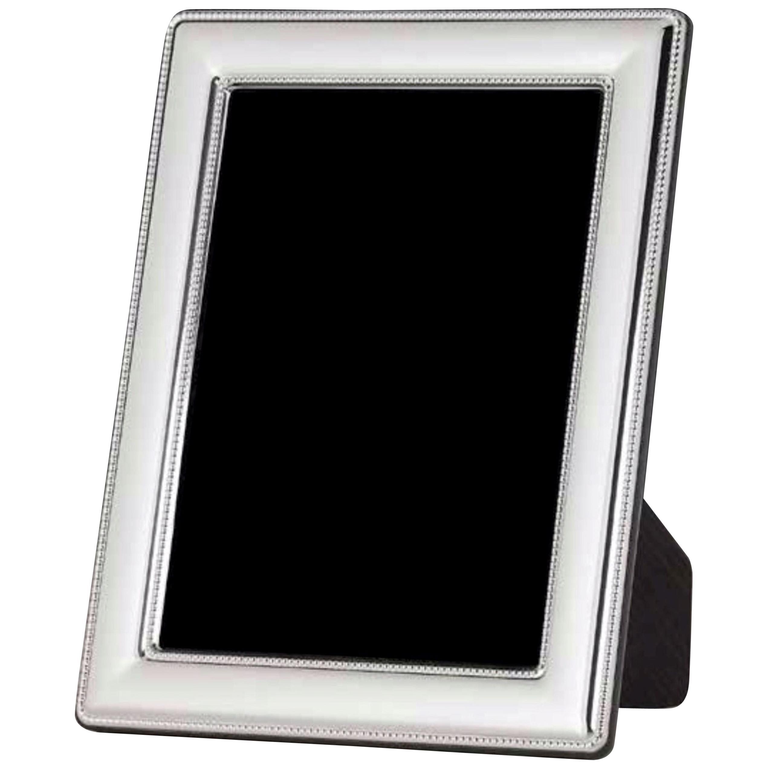Modern Sterling Silver Frame, Italy 13 x 18 cm