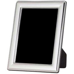 Modern Sterling Silver Frame, Italy 18 x 24 cm