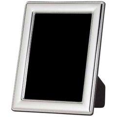 Modern Sterling Silver Frame, Italy 20 x 25 cm