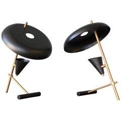 Modern Stilnovo Style Table Lamp, 1950s, Italy