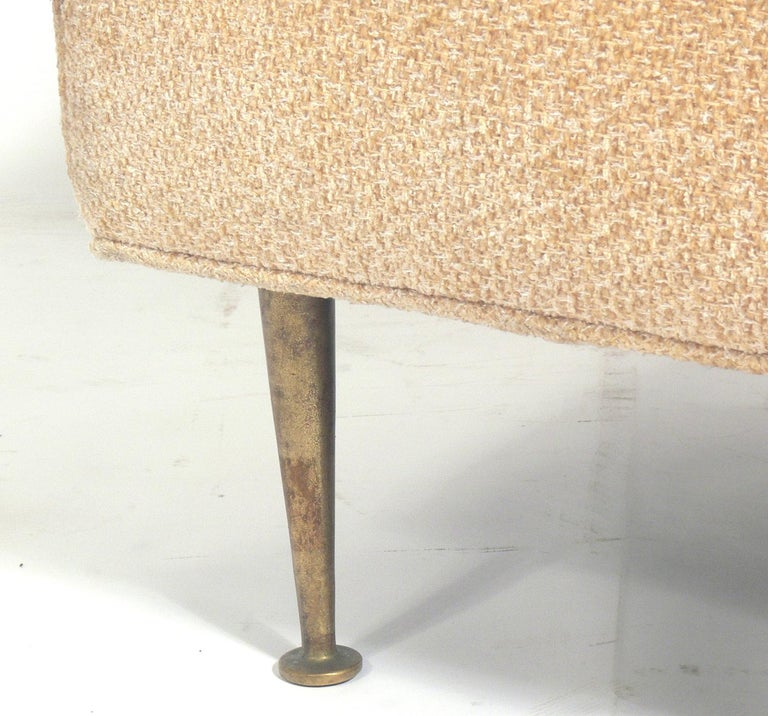 American Modern Stool or Bench Attributed to T.H. Robsjohn-Gibbings For Sale