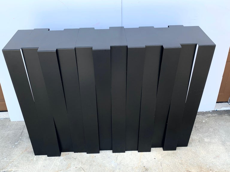 Modern 'Structure 12' console by Stephane Ducatteau, France, 2008, Palm Beach Estate Fresh. A great opportunity to purchase stateside a current Atelier made console. Gently used, ready to place.